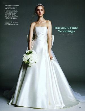9c6c335ec7b60 ・Special Dress Collection /衣裳・小物協力 ハツコ エンドウ ウェディングス銀座店