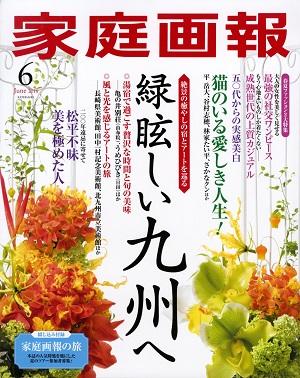 家庭画報 6月号 表紙 - コピー
